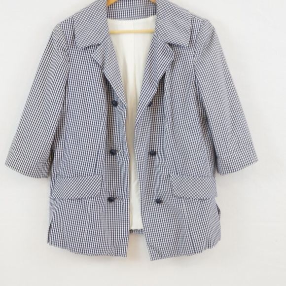 Vintage Jackets & Blazers - 3 for $10 SALE Vintage 1970s Checked Jacket Blazer